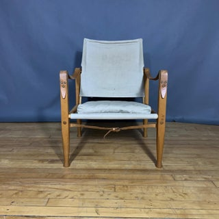Vintage Ruf Rasmussen Kaare Klint Safari Chair Preview