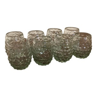 Green Tumbler Glasses - Set of 8 For Sale