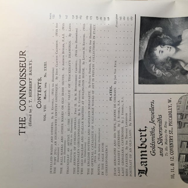 The Connoisseur 1904 Antiques and Collectors For Sale - Image 4 of 10