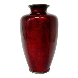 Ginbari Cloisonne Vase For Sale