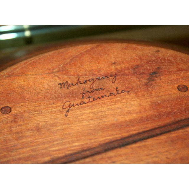 Large Turned Wood Mahogany Bowl by Bob Stocksdale For Sale In New York - Image 6 of 9