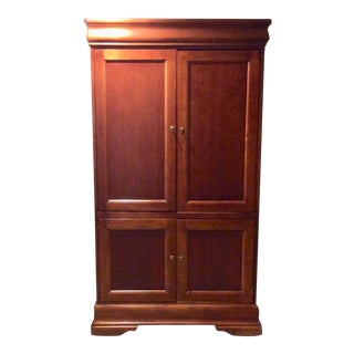 1990s Traditional Hooker Furniture Armoire For Sale