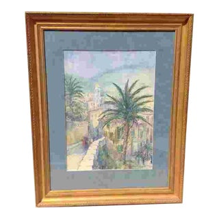 C.1927 Painting by Charles Allen Gilbert(NYC1873-1929) For Sale