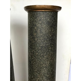 18th Century Neoclassical Faux Porphyry Columns - a Pair Preview