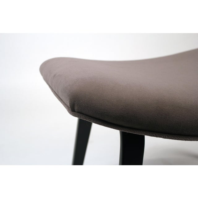 Black Pair of Early Eero Saarinen Grasshopper Chairs for Knoll With Rare Black Frames For Sale - Image 8 of 10