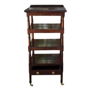 Shelf Lectern, 19th Century English Mahogany For Sale