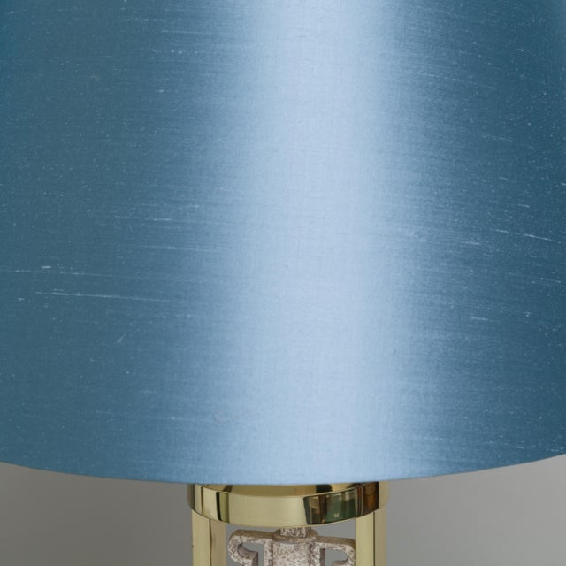 1970s An Unusual Pair of Oriental Inspired Table Lamps 1970s For Sale - Image 5 of 5
