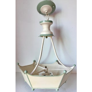 Vintage Italian Tole Painted Chandelier Preview