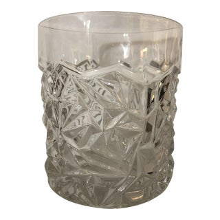 Vintage Tiffany and Co. Rock Cut Crystal Champagne Bucket For Sale