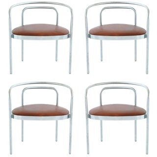 Poul Kjaerholm PK 12 Chairs For Sale
