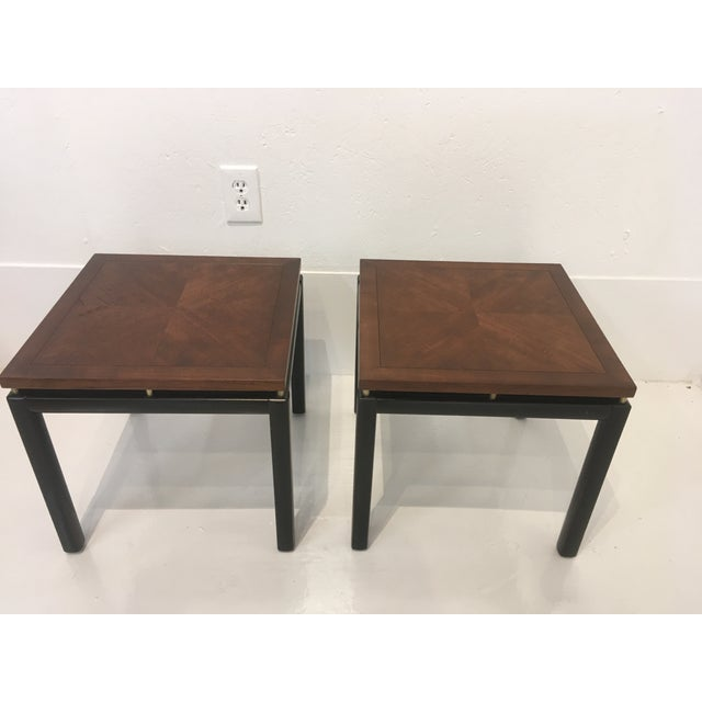 Mid-Century Modern Michael Taylor/ Baker Funiture Side Tables - a Pair For Sale - Image 3 of 10