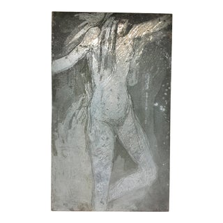 Late 20th Century Nude Etching Plate For Sale