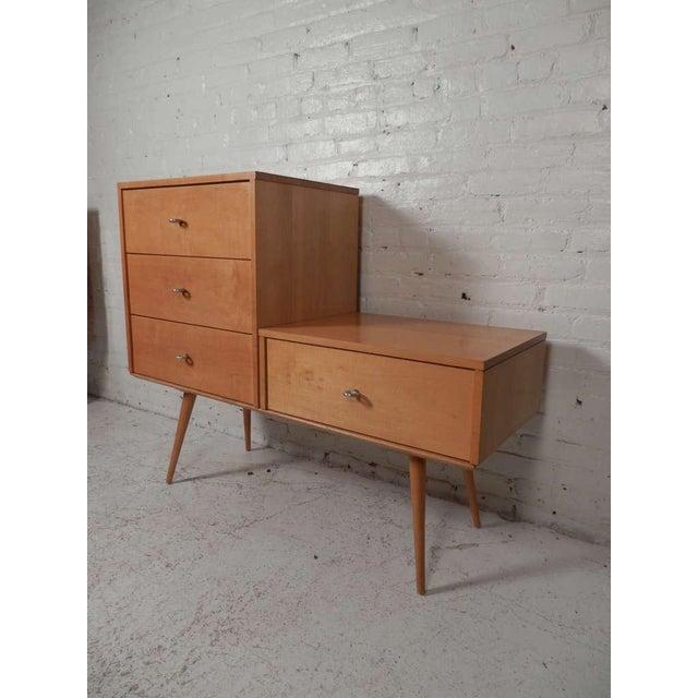 Mid-Century Modern Paul McCobb Three-Piece Modular Mid-Century Modern Dresser For Sale - Image 3 of 7