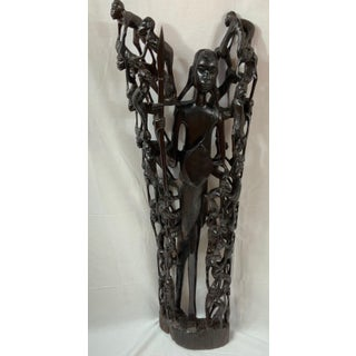 African MaKonde or Ebony Tree of Life Preview
