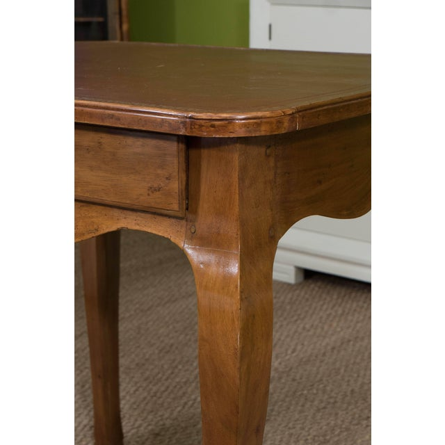 Mid 19th Century French Louis XV Style Writing Table For Sale - Image 5 of 11