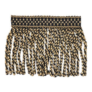 "5.5"" Bullion Fringe With Beaded Header - 13.5 Yards Trimmings For Sale"