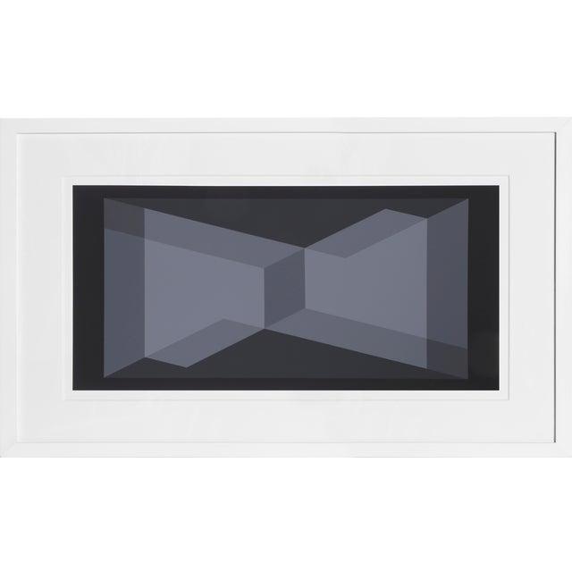 Josef Albers - Portfolio 1, Folder 9, Image 2 Framed Silkscreen For Sale