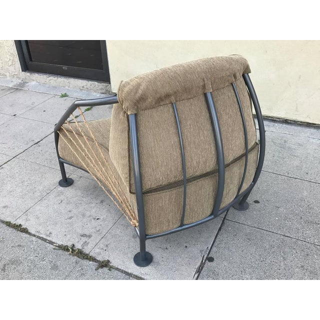 Steel & Metal Prototype Chair For Sale - Image 5 of 6