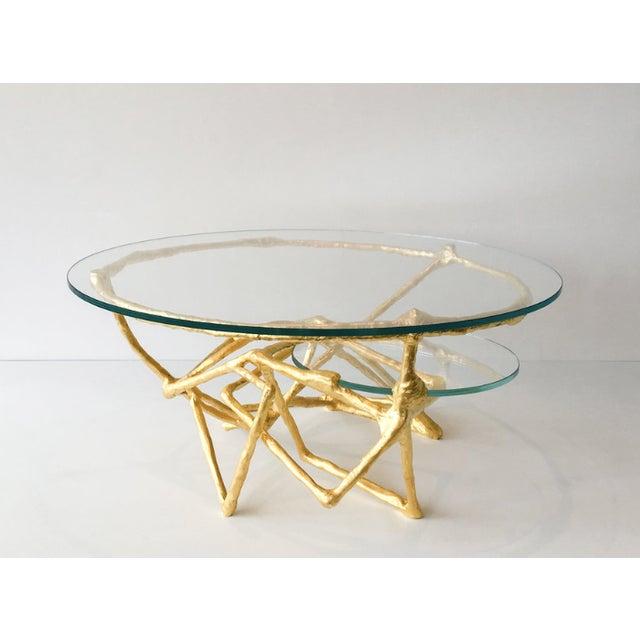 Zuckerhosen Linear Downfall Cocktail Table by Zuckerhosen For Sale - Image 4 of 4