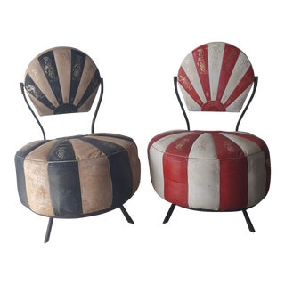 1960 Vintage Lebanes Chairs - a Pair For Sale