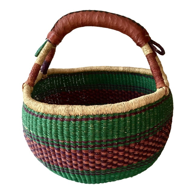African Market Basket - Image 1 of 4
