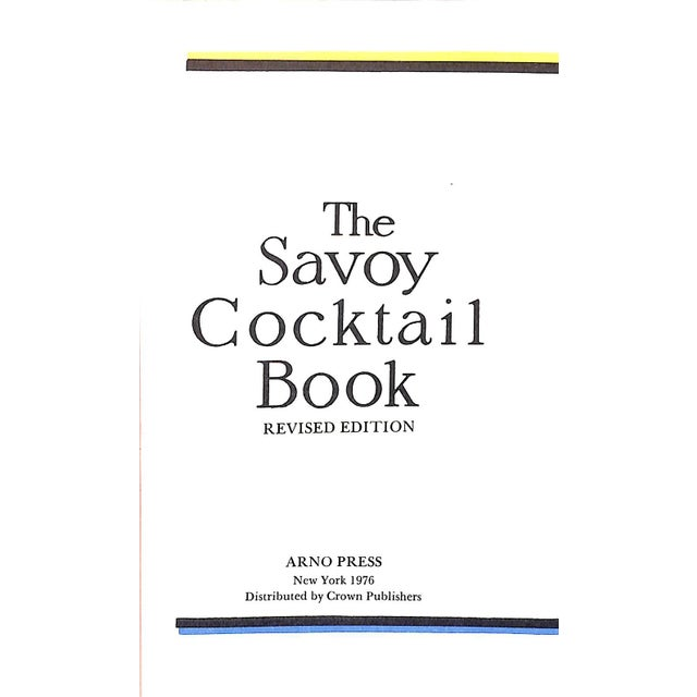 """The Savoy Cocktail Book"" Book - Image 2 of 4"