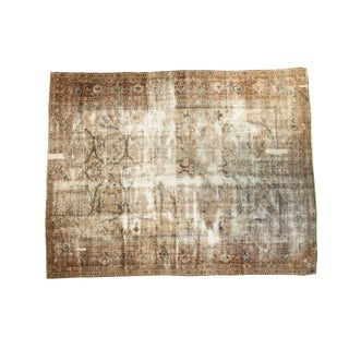 "Distressed Mahal Carpet - 6'9"" x 8'6"""