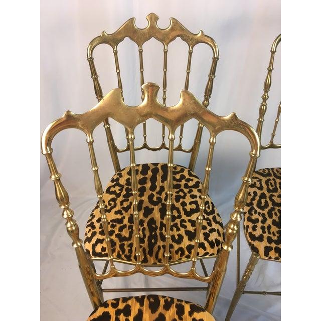 Vintage Italian Chiavari Chairs- Set of 4 For Sale In Charleston - Image 6 of 8