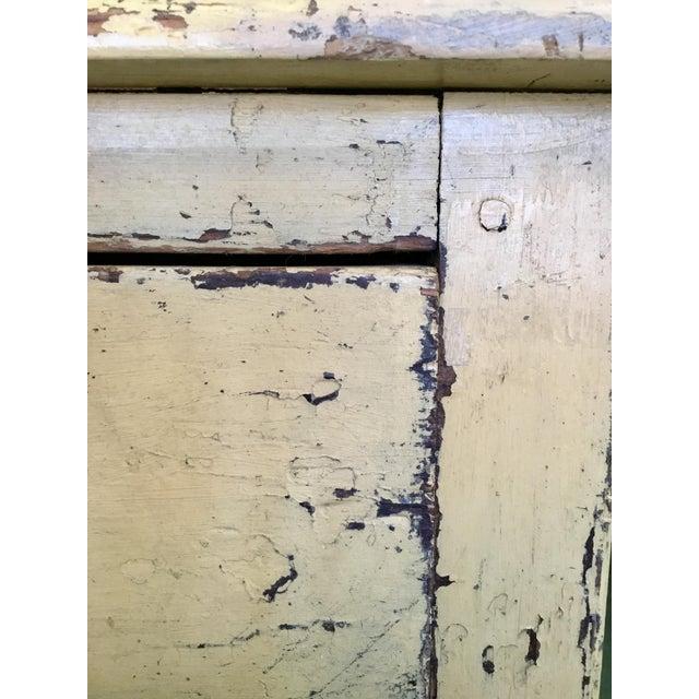 Yellow 19th C. Scandinavian Dresser For Sale - Image 8 of 13