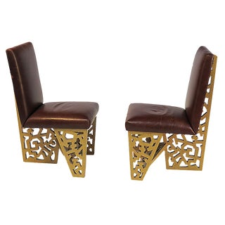 1970s Robert Hutchinson Designed Chairs - a Pair For Sale