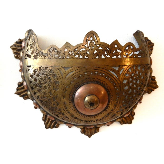Moroccan Wall Sconces - A Pair - Image 2 of 8