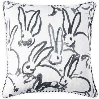 Lee Jofa for Groundworks Bunny Fabric Decorative Pillow Preview