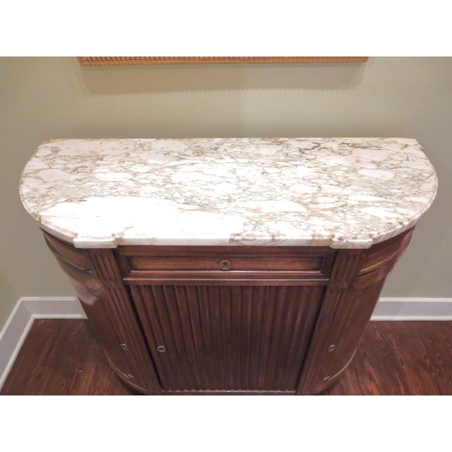 19th Century Louis XVI Buffet/Marble Top For Sale - Image 5 of 10