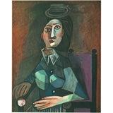 "Image of 1943 Picasso, Original ""Portrait"" Lithograph For Sale"