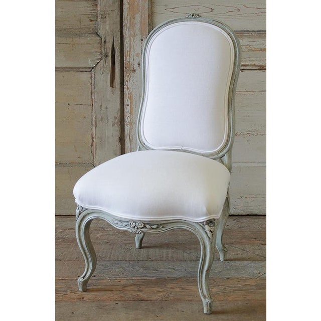 20th Century Painted & Upholstered Louis XV Style Child's Chair - Image 2 of 6