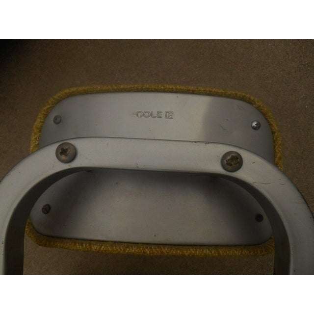 Industrial Steel & Aluminum Cole Office Chair - Image 5 of 5