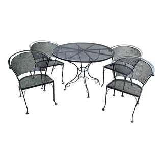 Salterini Garden Table and Chairs