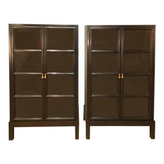Widdicomb Mahogany Bookcases - a Pair