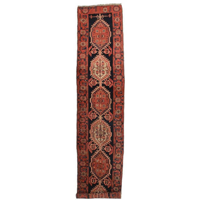 """Antique Persian Sarab Wool Runner - 2'10"""" X 13'10"""" For Sale"""