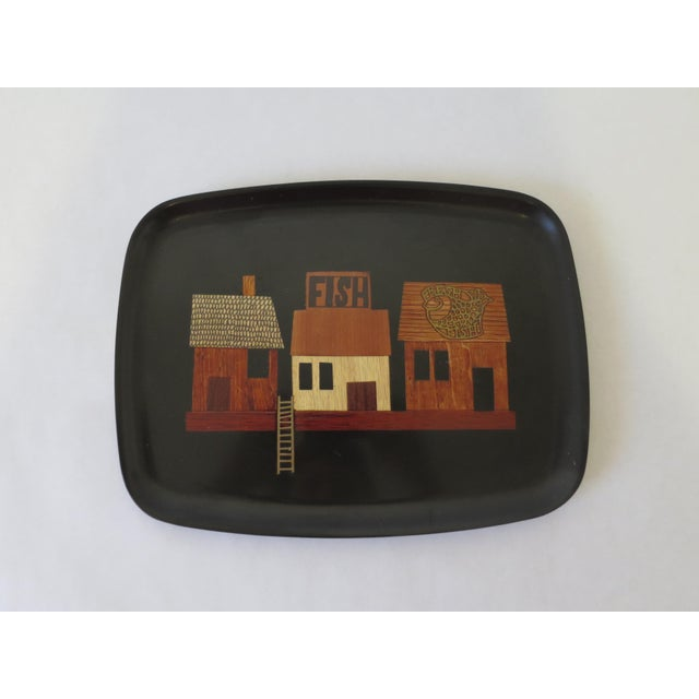 Vintage Couroc Serving Tray - Image 2 of 6