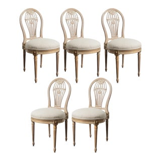 Balloon Back Dining Chairs - Set of 5