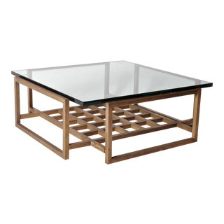 French Vintage Bronze Coffee Table For Sale