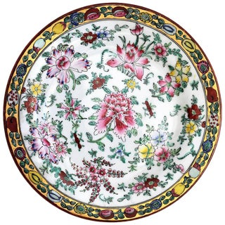 20th Chinese Export Platter For Sale
