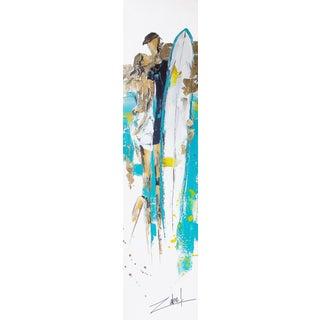 """""""Surf & Chic"""" Original Artwork by Zabel For Sale"""