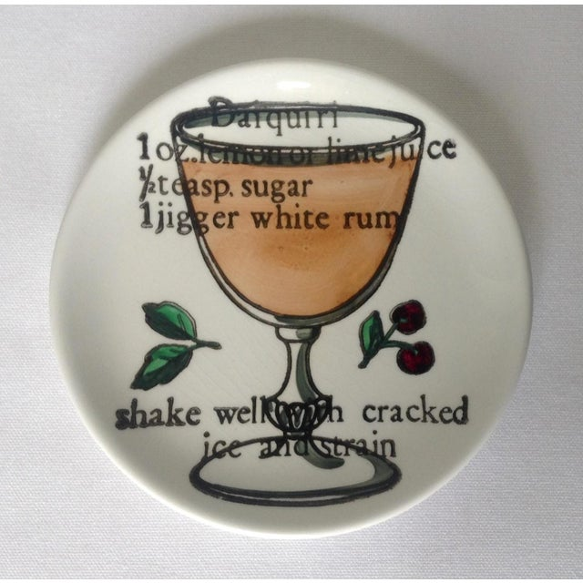 Piero Fornasetti Drinks Coasters - Set of 6 For Sale - Image 10 of 11