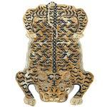 Modern Tibetan Tiger Wool Rug - 4' X 6'