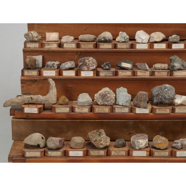 1891 French School Mineral Specimen Collection - 200 Pc. Set For Sale - Image 10 of 13