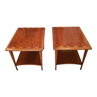 Mid-Century Modern Lane Acclaim Collection Side Tables - a Pair For Sale
