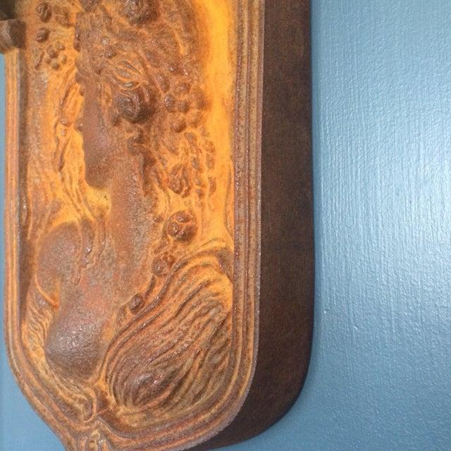 Art Nouveau Wall Plaques - Pair - Image 4 of 11