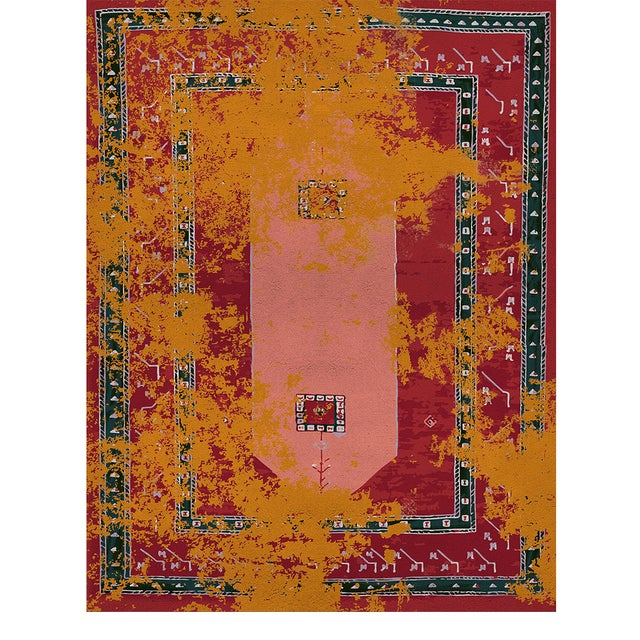 Modern Medina Classic Rug From Covet Paris For Sale - Image 3 of 3